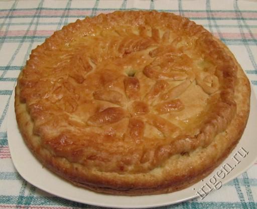 пирог с капустой 1