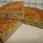 пирог с капустой: разрез