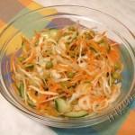 салат Витаминный с морковью