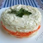 салат слоеный с сельдереем
