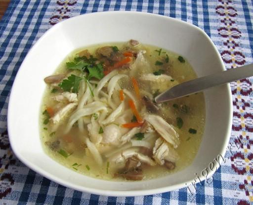 рецепт домашней лапши для куриного супа от бабушки