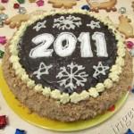 торт Юбилейный, новогодний