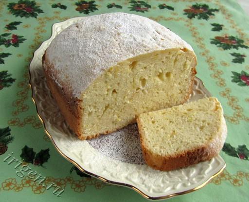 Кекс Лимонный в хлебопечке