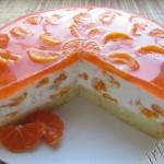 Торт суфле Оранж