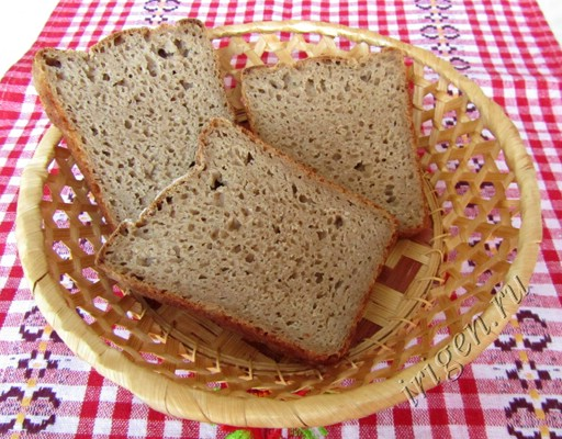 Ржаной хлеб на воде