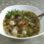 Суп с фрикадельками Бердянский