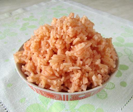 фотография томатного риса