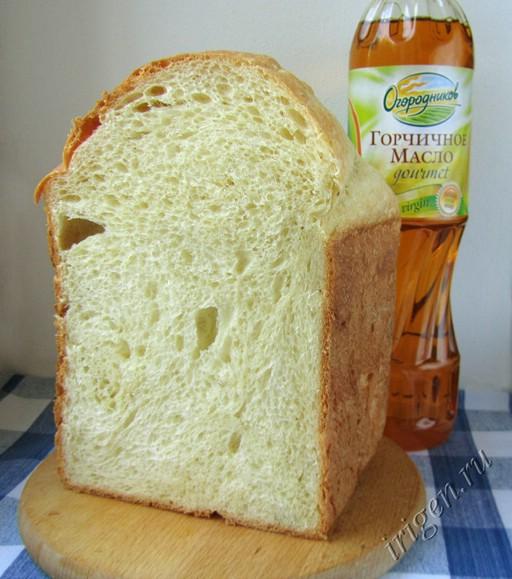 Горчичный хлеб в хлебопечке рецепты с фото
