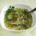 фотография супа со стручковой фасолью