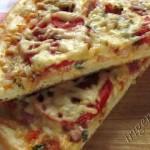 фотография теста для пиццы на молоке