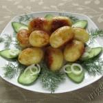фотография картофеля молодойгов масле