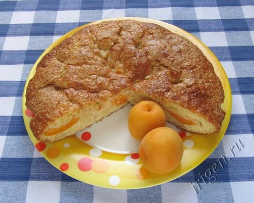 фотография пирога с фруктами