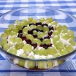 фотография салата со свеклой и виноградом