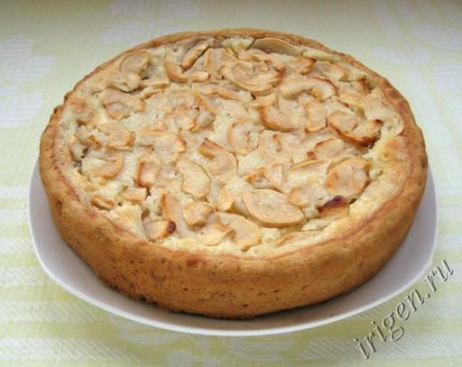 фотография яблочного цветаевского пирога