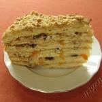 фотография торта медовика