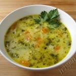 суп с кабачком и сыром фото