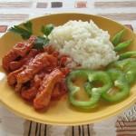 фотография свинины в томатном соусе