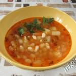 фотография супа с фасолью