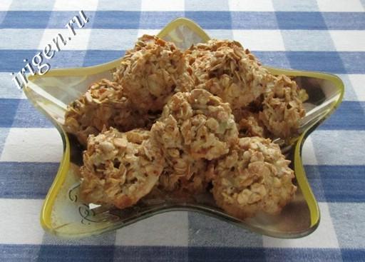 овсяное печенье Геркулес фото