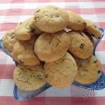 фото печенье сметанное с орехами и изюмом