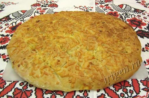 лепешка картофельная с сыром и розмарином