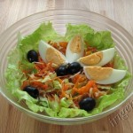 салат солнышко фото
