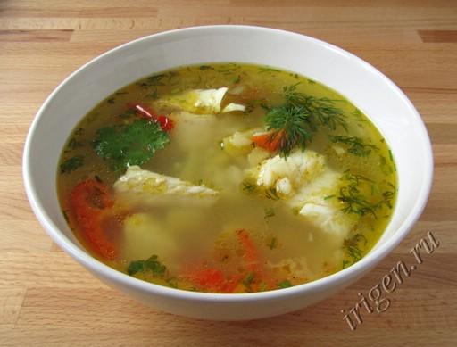 суп рыбный с рисом фото
