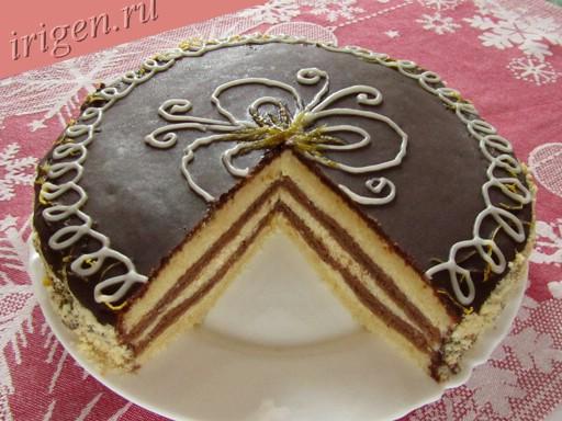 торт любимый с лимоном фото