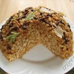 торт муравейник -разрез фото