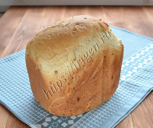 хлеб полезный в хлебопечке