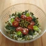 салат с сельдереем и горошком фото
