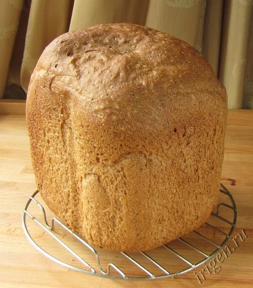 хлеб французский с солодом в хлебопечке фото