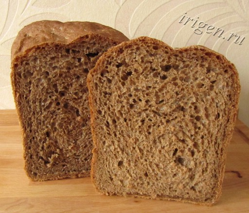 хлеб франц-с-солодом фото