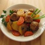 рагу овощное с мясными тефтельками фото