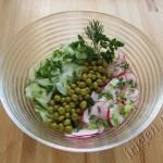 салат из редиса и огурца фото