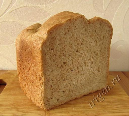 хлеб крестьянский в хлебопечке фото