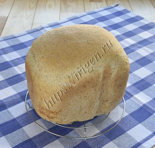 хлеб пшеничный со смесью пшеничных и овсяных отрубей