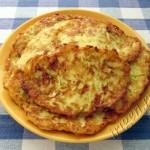 оладьи кабачковые с картофелем и сыром фото