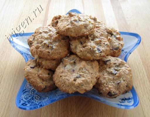 миндальное печенье на белках фото