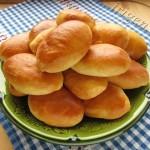 пирожки печеные из петровского теста фото