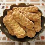 печенье косички фото