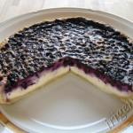 чернично-творожный пирог фото