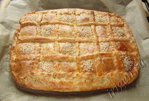пирог после выпечки фото
