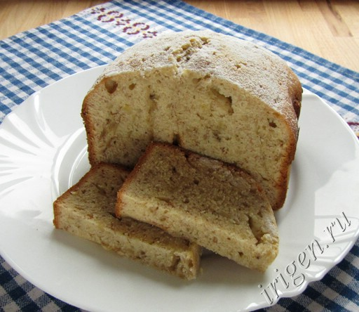 кекс банановый в хлебопечке фото
