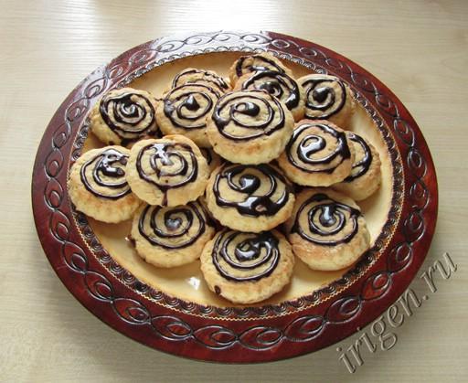 печенье творожно-лимонное фото
