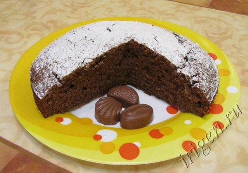 шоколадный кекс загадка фото