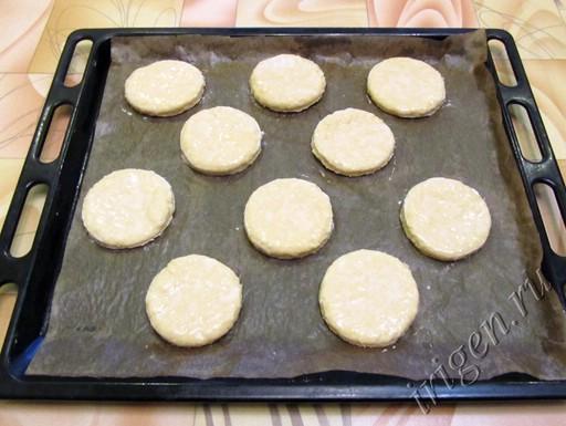 пышки сырные перед выпечкой фото