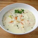 сырный куриный суп с рисом фото