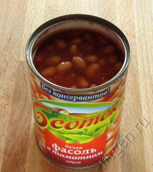 Консервированная фасоль в домашних условиях рецепт