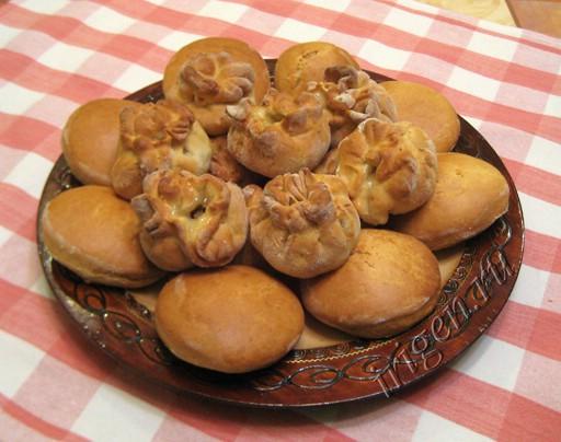 печенье узелки с фруктами фото